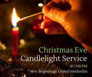 Christmas Eve Service, Townsend MA