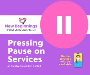 Pressing Pause on Services this week