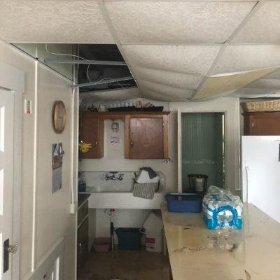 Kitchen Water Damaage
